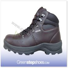 Fashionable mens waterproof trekking boots/hiking shoes
