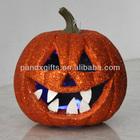 Halloween Glitter led pumpkin for out door decoration