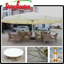 7 M big outdoor umbrella,garden umbrella,sun umbrella