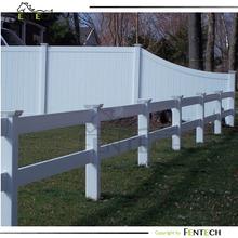 two rail pvc horse fencing