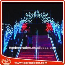 Building decorative halloween light up decorations