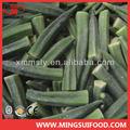 el suministro a granel verde chino de alimentos congelados okra