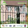 Wholesale Powder Coated Heat Treated Metal Steel Decorative Garden Fence