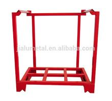 Métal empilable palette rack & racks de stockage de l'entrepôt et acier palette