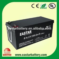China Factory Hottest Export solar battery 12v 200ah lead acid battery for solar panel