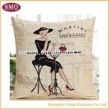 China manufacturer Flag design wholesale plain pattern cushion pillow