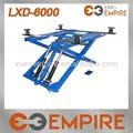 Hot vente! 2700 kg / 6000lb double cylindre hydraulique portable ciseaux ascenseur de voiture