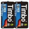 OEM size D Carbon zinc r20 battery/metal jecket batteries r20 1.5v