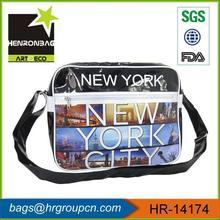Hot Sale Photo Printing PVC Boys Messenger Bag