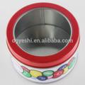 semplice e pratico piastra scatola di latta caramelle metallo può visualizzare