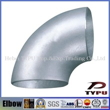 30 45 90 degree stainless steel / carbon steel elbow pipe fitting