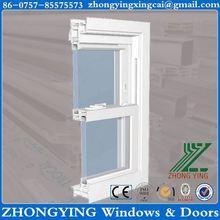 Two rails design upvc sliding window channel