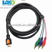 fashional design convertidor de cable hdmi al cable rca male to male