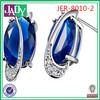 2014 New Style Imitation Earring Crystal Design,studs earrings