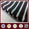 black and white stripe fabric
