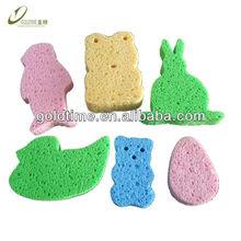 Cellulose cute design bath Sponge
