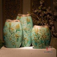Ceramic vases, decorations for home