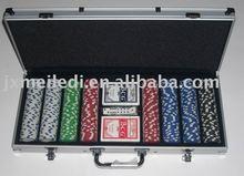 CQ 400 11.5g dice cheap poker chip set in aluminum case