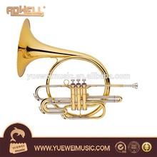3 Piston French Horn, brass wind instrument