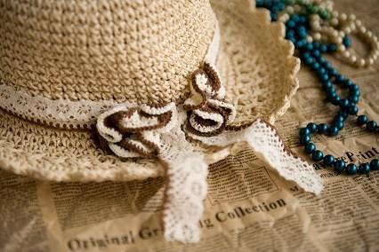 wholesale fashion lady's straw hat