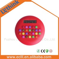 Round Promotional Desktop Calculator