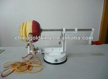 machine to peel and cut the fruits - apple peeler