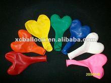 2014 hot selling heart shape latex party balloon