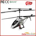 Nuevo estilo de tamaño medio 3 canal rc helicóptero con el girocompás& de iluminación