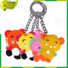 2014 cheapest promotional silicone key holder,multiple key holder,custom key holder
