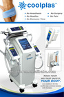 USA popular new technology Coolplas vacuum cooling Body Slimming Machine System for cooling Local Obesity weight los slimming