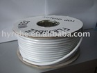 High quality professional telephone wire's supplies(flat/round) 2/4/6P,copper wire