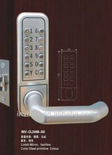 mechanical code door lock,password code lock ,no battery password lock