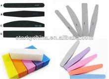 Fashion beauty 100/180 grit Nail File , OEM Nail File and buffer for nail tools