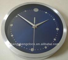 10 inches metal wall clock decotative wall clock Colorful metal wall clock iron wall clock