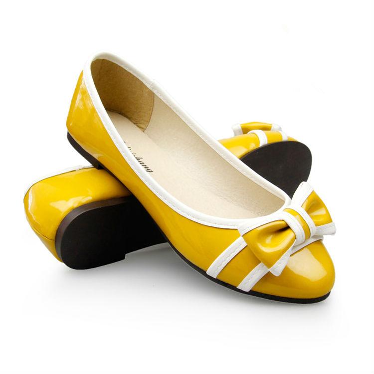nuevo estilo de las damas de ballet plana zapato 2014