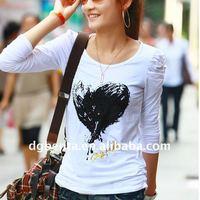 Hot!! white plain t shirts printing 100% cotton bulk blank t-shirts