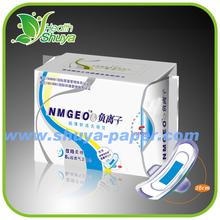 Lady Anion Sanitary Napkin with Negative Ion Active Oxygen Far-IR