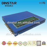 Dinstar 8 channel GSM GoIP gateway for call origination