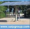 High power solar tracker sun tracking