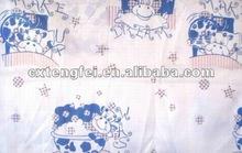 2014 hotsale girls like polyester bed sheet fabric