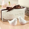 Popular Factory Price High Quality Love Birds Salt and Pepper Shakers Wedding Favors
