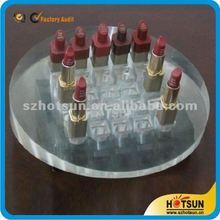 Wholesales acrylic lipsticks holder cosmetic organizer