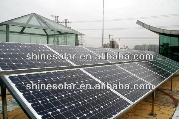 (SN-M250) TUV CE 24V solar panel in energy /250w monocrystalline solar panel