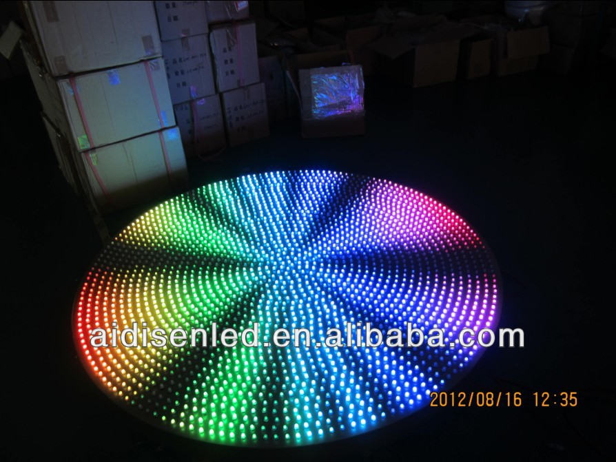 5050 dot madrix LED Pixel RGBW full color flasing programmable addressable individual LED RGB
