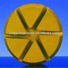 XY-6S 80mm concrete dry diamond hand polishing pad