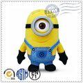 China , animal muñeca de la felpa top 10 de ventas promoción venta al por mayor barato despicable me minion juguete de felpa