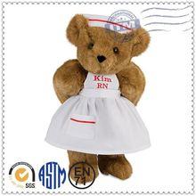 Factory Price Wholesale Custom Stuffed Plush Toys nurse bear plush toy bear