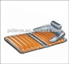 inflatable beach lounger/ inflatable floating mattress