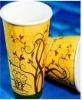 8 oz disposable PLA paper cups