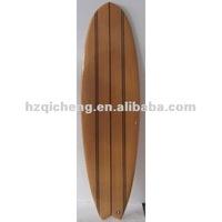 Wood Veneer Epoxy Surfboards Made in China